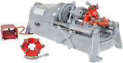 Reconditioned Ridgidandreg 535 V1 Pipe Threading Machine With 2 811a Die Heads