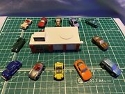 Micro Machines Galoob 1988 Target Exclusive Custom Car Shop Collection Rare