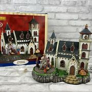 Lemax Christmas Village Church Of The Nativity With Three Kings Animated Musical