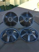 1965 Ford Mustang 14 Hubcaps Wheel Covers Antique Vintage Set Of Four