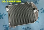 Fit Ford Model A 1928 - 1929 28 29 Aluminum Radiator 56mm No Coolant Lost