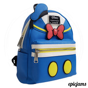 Loungefly Disney Donald Duck Mini Backpack - Rare, New W/tags