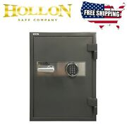 Hollon Hs-750e 2 Hour Fireproof With Electronic Digital Lock Keypad Office 27''