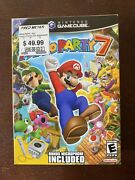 Mario Party 7, Factory Sealed And New Microphone Big Box Bundle, Gamecube Gcn