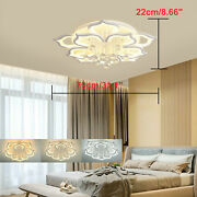 797922cm Ceiling Light Chandeliers Led Dimmable Ceiling Fixtures 5+5 Heads Usa
