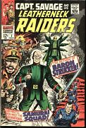 Captain Savage And His Leatherneck Raiders Marvel Silver Lot 12 Cents