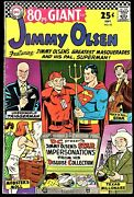 Supermanand039s Pal Jimmy Olsen 95 104 113 122 1966-69 80-page Giant Lot