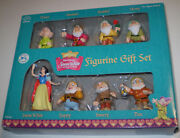 Snow White And Seven Dwarfs Figurines Pvc By Applause Vintage Disney Figurines