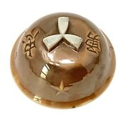 Ww2 Wwii Japanese Artillery Shell Helmet Style Military Sake Cup Japan