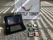 Nintendo 3ds Xl System, Charger, And 6 Game Bundle, Tested, Good Cond, Free Ship