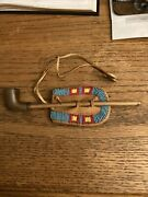 Handmade Southwestern Indian Pipe Beaded Tobacco Pouch Sid Bell Personal Estate