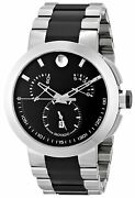 Movado Menand039s 0606546 Verto Stainless Steel Watch