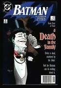 Batman 429 Book Four Of Death In The Family, Joker Cover By Mignola, Nm-