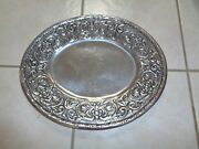 Wilton Armetale Pewter William And Mary Oval Platter-tray 14 1/2 X 12 366254