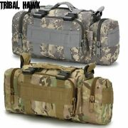 Waist Bag Pouch Tactical Shoulder Pack Military Outdoor Hiking Hunting Fishing