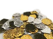 Seven Seas Pirates Toy Metal Gold And Silver Treasure Coins - 1000 Tokens