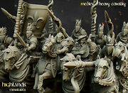 Medieval Heavy Cavalry Highlands Miniatures 9th Age Equitaine Knights Of