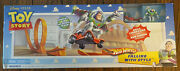 Disney Pixar Toy Story Hot Wheels Falling With Style Track Set Buzz New