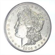 1904-s Morgan Silver Dollar Raw Ungraded Coin Uncirculated Details