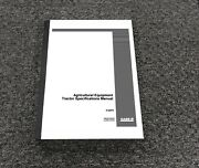 Case Ih 470 570 770 870 970 Tractor Specifications Service Manual Pn 8-22570