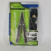 Rare 2001 Leatherman Super Tool 200 Leather Sheath Original New In Package Read