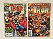 Marvel Comic Lot Mighty Thor 1-85 Plus 2 Annuals See Detail Listing Vf/vf+ Bb