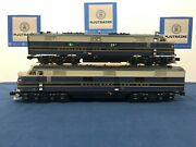 Lionel Baltimore And Ohio 1425 E7 Aa Diesel Set W/ Legacy And Tmcc 6-34505 No Boxes