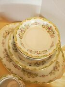 Vintage Mira China, 41 Pc. Include Sugar Bowl And Creamer Made In Occupied Japan