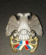 Navy Of Serbia And Montenegro Sfry Soldiers Rank Beret Badge Megaplast