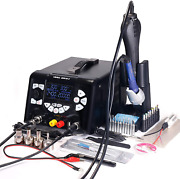 Yihua 853d Usb 3a-three Tools- Soldering Station, Hot Air Rework Station New