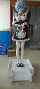 Re Zero Starting Life In Another World Rem Life Size 1/1 Gk Collector Statue