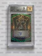 2020 Select Rookie Signatures Prizm Green Jordan Love 5/5 Bgs 9/10extremely Rare