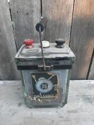 The Lively O Oldham Antique Glass Battery