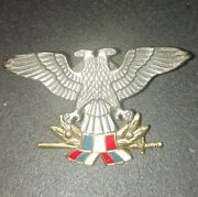 Serbia And Montenegro Airforce Sfry Soldiers Beret Badge. Megaplast Production