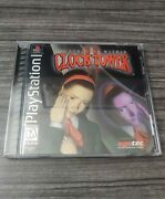 Clock Tower 2 Struggle Within Complete With Registration Card 100 Mint/new Ps1