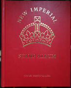 Boxed New Imperial British Empire Stamp Album Vol 1 And 2 2000+ Stamps