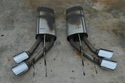 13-18 W463 Mercedes G63 G550 Amg Left And Right Exhaust Muffler Mufflers Pair Oem
