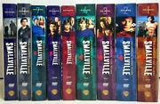 Smallville - Season 1-7 And 9-10 Dvd Only Missing Season 8 Excellent Condition