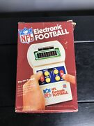 Vintage Rare Nfl Electronic Football Game Tudor Games Works With Box