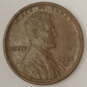 1918-d U.s. 1andcent - Lincoln Wheat Cent - Bu Bn