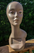 Mannequin Head, Female, African American, 18, Used