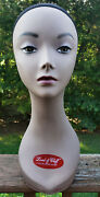Mannequin Head, Female, Lord And Cliff Brand, Hispanic/ethnic, 18, Used