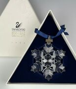 Crystal 1996 Ornament Large Snowflake New In Box