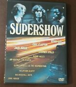 Supershow The Last Great Jam Of The 60s Clapton Buddy Miles Roland Kirk Dvd
