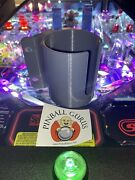 Pinball Machine Cup/drink/pop/soda Holder Front Or Side Mount - Gray
