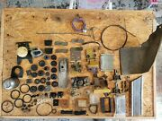 Lot Of Parts Chevy C-10 Vintage 1970-71 Truck Bushings/lights/trim/hinges More
