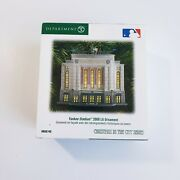 Department 56 Christmas In The City Series 2009 Yankee Stadium Ornament Mint New