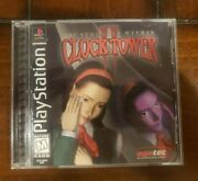 Clock Tower 2 The Struggle Within Ps1 Great Condition Cib With Registration