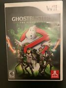 Ghostbusters The Video Game Nintendo Wii, 2009 - Game W/case And Manual