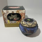 Wizard Of Oz Wicked Witch Hinged Music Trinket Box San Francisco Music Box Co